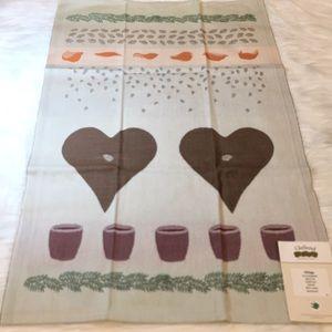 "Ekelund Glögg 19""x 28"" (48x70cm) Cotton Towel, NWT"